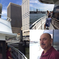 Photo taken at East River Ferry - Wall St/Pier 11 Terminal by Kian Lam K. on 8/8/2015