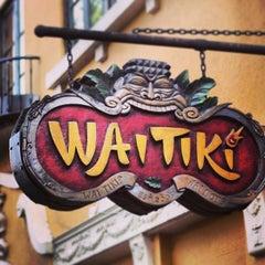 Photo taken at WaiTiki Retro Tiki Lounge by Wall Street P. on 8/23/2013
