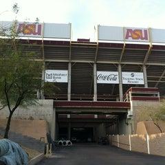 Photo taken at Sun Devil Stadium by Marc V. on 2/6/2013