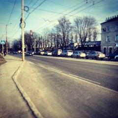 Photo taken at ул. Александра Суворова by Anton K. on 3/7/2013