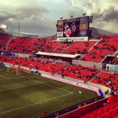 Photo taken at BBVA Compass Stadium by Corey M. on 7/28/2013