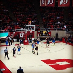 Photo taken at Jon M. Huntsman Center by Riley P. on 1/11/2013