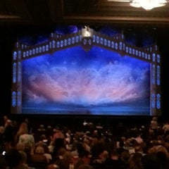 Photo taken at Pantages Theatre by Antoinette M. on 10/3/2012