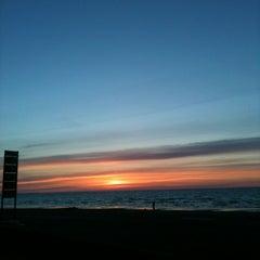 Photo taken at Majoru pludmale | Majori beach by Svetlana R. on 4/27/2013