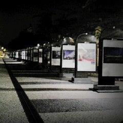 Photo taken at Jardim do Arco do Cego by Filipe A. on 9/29/2013