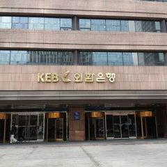 Photo taken at KEB 하나은행 by Stephano L. on 3/12/2013