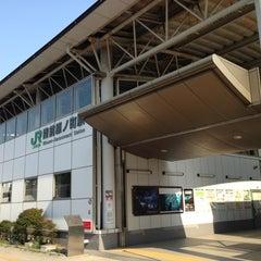 Photo taken at 陸前原ノ町駅 (Rikuzen-Haranomachi Sta.) by ichi on 7/30/2014
