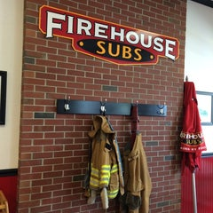 Photo taken at Firehouse Subs by Tom B. on 8/19/2014