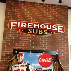 Photo taken at Firehouse Subs by Tom B. on 3/6/2013