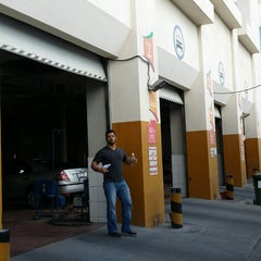 Photo taken at WOQOD Vehicles Inspection (FAHES) Industrial Area by NJM A. on 11/10/2014