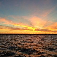 Photo taken at Long Island Sound by Chris M. on 8/29/2014