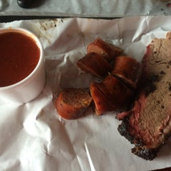 Photo taken at Opie's BBQ by Nicole M. on 4/20/2015