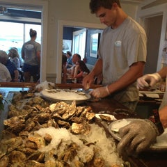Photo taken at Matunuck Oyster Bar by Kathy S. on 7/13/2013
