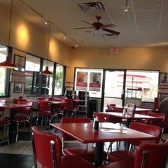Photo taken at Freddy's Frozen Custard & Steakburgers by Kerry B. on 2/21/2013