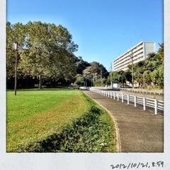 Photo taken at 富岡総合公園 by Ken. on 10/21/2012