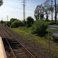 Photo taken at LIRR - Amagansett Station by harryh on 6/2/2013