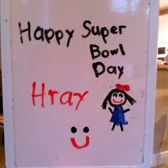 Photo taken at Super Bowl Sunday by Milly B. on 2/6/2011