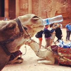 Photo taken at Petra البتراء by Greg G. on 10/28/2011