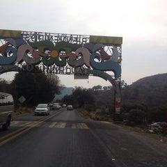 Photo taken at San Pedro Atocpan by Omar David S. on 1/25/2015