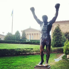 Photo taken at Rocky Statue by Denis A. on 9/27/2012