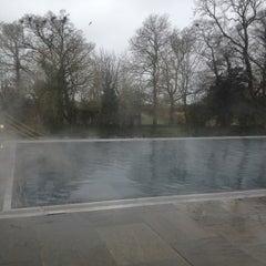Photo taken at Babington House by Rachel K. on 4/13/2013
