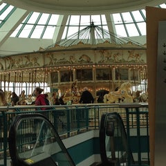 Photo taken at The Carousel @ Carousel Center by Chacha on 12/1/2013