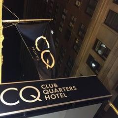 Photo taken at Club Quarters Hotel by Daniel Q. on 6/20/2015