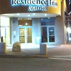 Photo taken at Marriott Residence Inn Waterfront by John G. on 10/12/2012