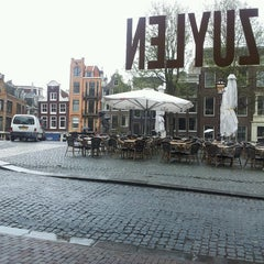 Photo taken at Café Van Zuylen by Ro L. on 4/19/2013
