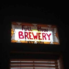 Photo taken at Full Moon Cafe & Brewery by Bryan C. on 7/25/2013