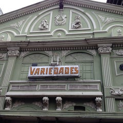 Photo taken at Teatro Variedades by José G. on 10/11/2014