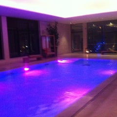 Photo taken at Mövenpick Hotel Gammarth Tunis by Yass T. on 12/25/2012