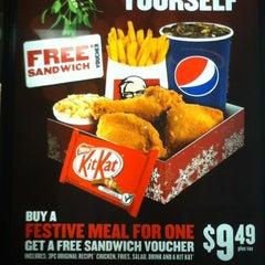 Photo taken at KFC by Steven L. on 12/17/2012