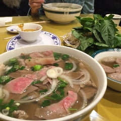 Photo taken at Pho Duy by Zachary g. on 4/17/2015