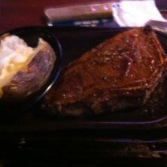 Photo taken at Brann's Steakhouse & Grille by Julio V. on 9/14/2012