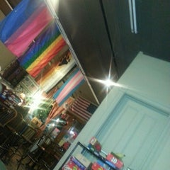 Photo taken at Equal Grounds Coffeeshop & Books by Nichole on 11/16/2012