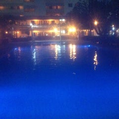Photo taken at Sea Me Spring Hotel by Turgay T. on 2/18/2014