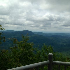 Photo taken at Whiteside Mountain by David D. on 6/25/2013