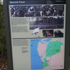 Photo taken at Spanish Pond at the Timucuan Preserve by Stephen S. on 1/12/2013