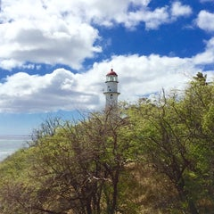 Photo taken at Diamond Head Lighthouse by Anthony C. on 9/28/2014