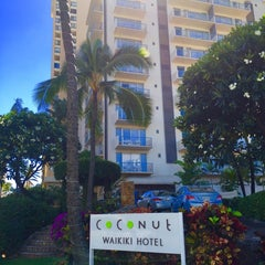 Photo taken at Coconut Waikiki Hotel by Anthony C. on 9/26/2014