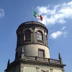 Photo taken at Museo Nacional de Historia (Castillo de Chapultepec) by Irene C. on 11/16/2012