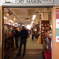 Photo taken at Book Bay Fort Mason by Ted B. on 11/17/2013