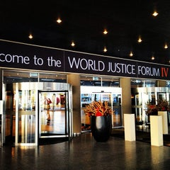 Photo taken at World Forum by Uluk K. on 7/10/2013