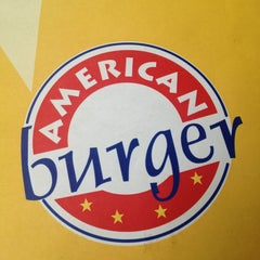 Photo taken at American Burger by Sergio G. on 7/17/2013