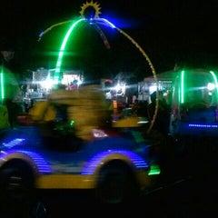 Photo taken at Pasar Malam Lapangan Kodam V Brawijaya by Maksi P. on 2/8/2014