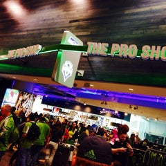 Photo taken at The Pro Shop at CenturyLink Field by Nikhil A. on 5/18/2014
