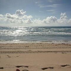 Photo taken at Lantana Beach by Chris G. on 6/29/2013