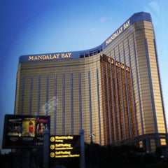 Photo taken at Mandalay Bay Resort and Casino by Rob W. on 4/29/2013