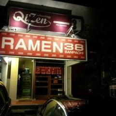 Photo taken at Ramen 38 (Sanpachi) by Benny B. on 3/22/2013